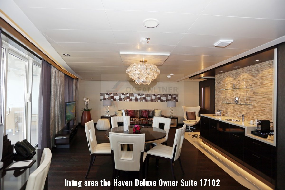 living area the Haven Deluxe Owner Suite 17102