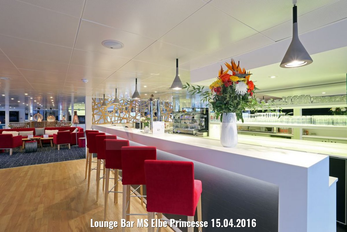 Lounge Bar MS Elbe Princesse 15.04.2016