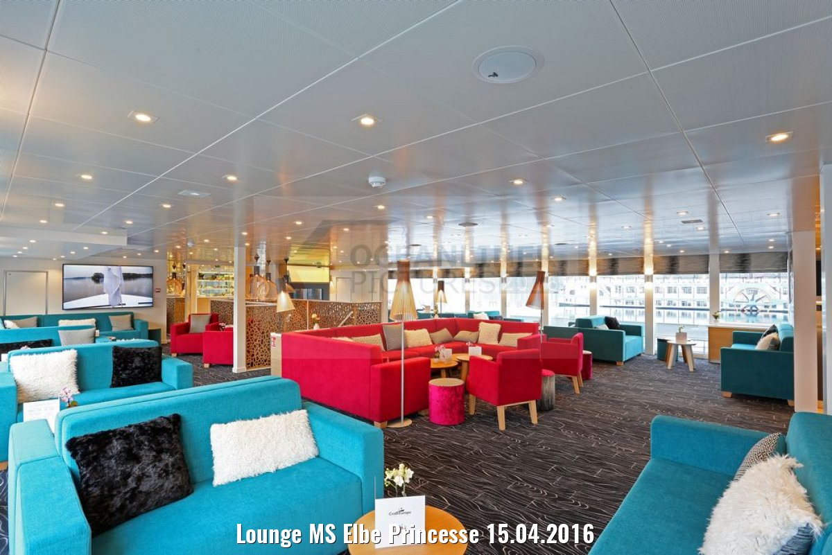 Lounge MS Elbe Princesse 15.04.2016