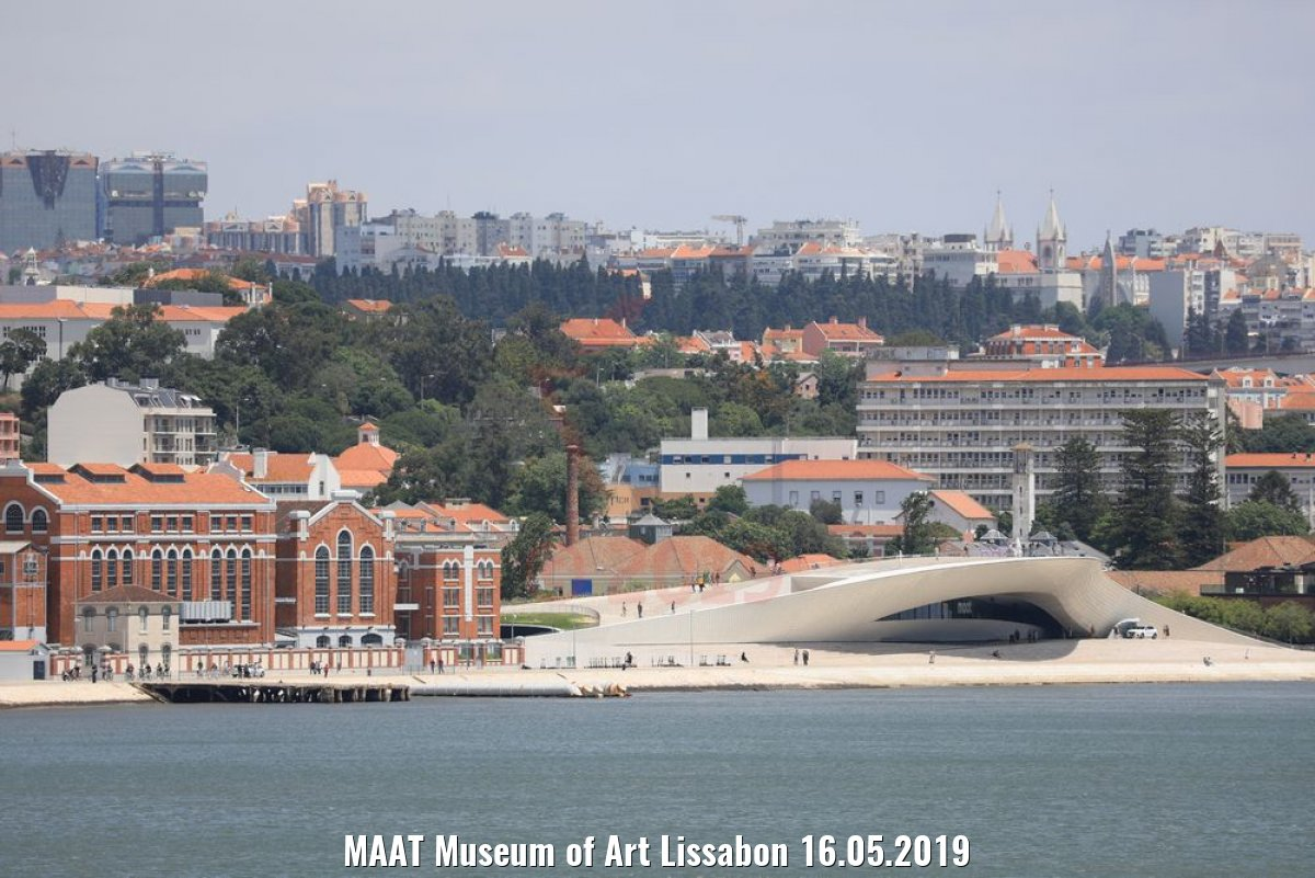 MAAT Museum of Art Lissabon 16.05.2019