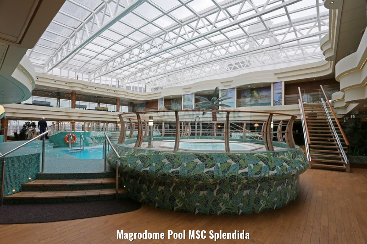 Magrodome Pool MSC Splendida