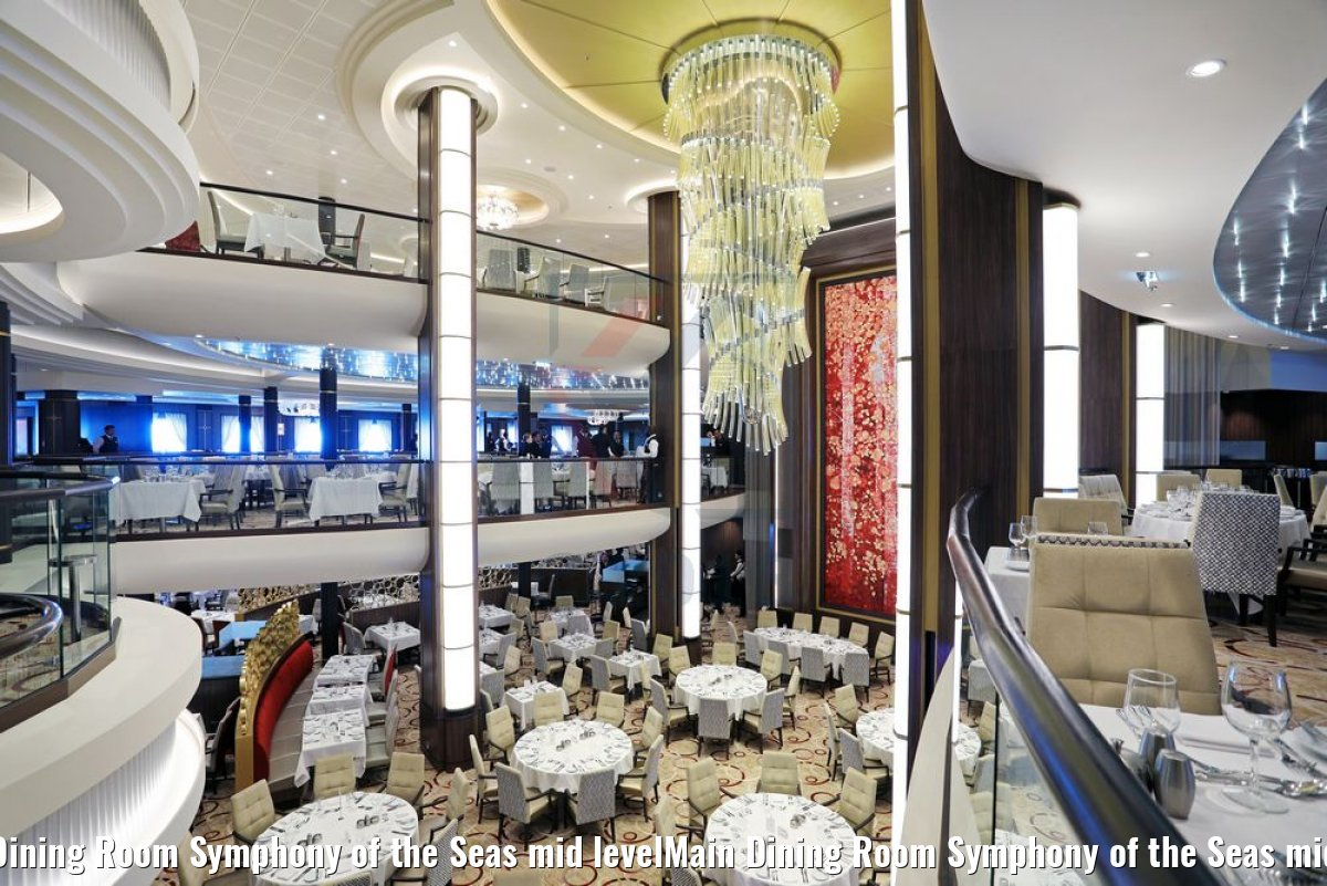 Main Dining Room Symphony of the Seas mid levelMain Dining Room Symphony of the Seas mid level