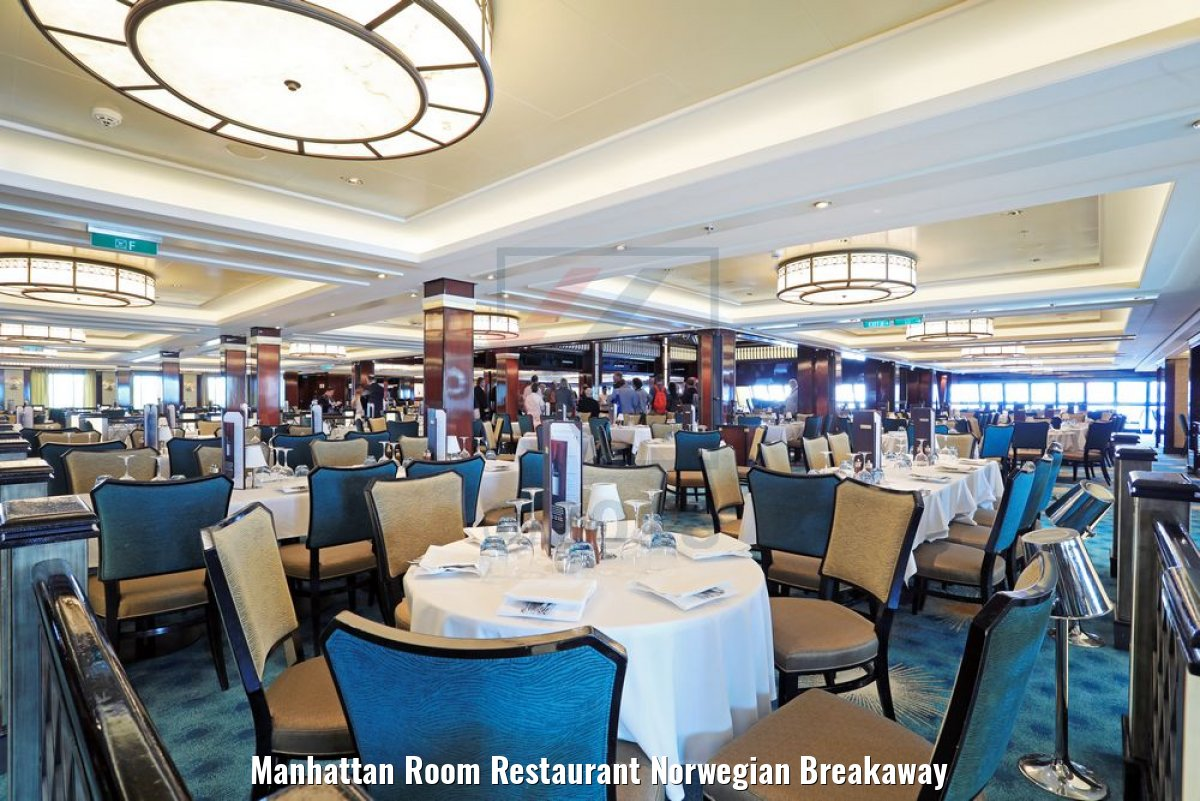 Manhattan Room Restaurant Norwegian Breakaway