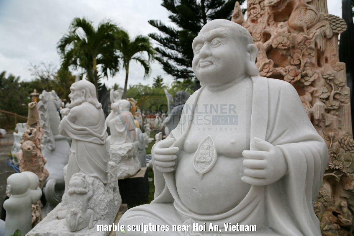 marble sculptures near Hoi An, Vietnam