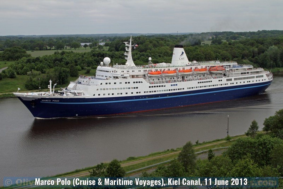 Marco Polo (Cruise & Maritime Voyages), Kiel Canal, 11 June 2013