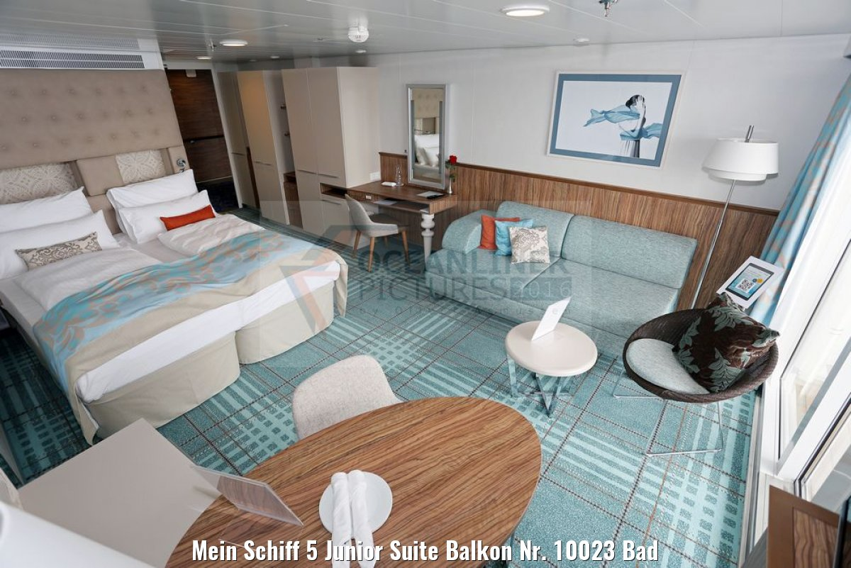 Mein Schiff 5 Junior Suite Balkon Nr. 10023 Bad