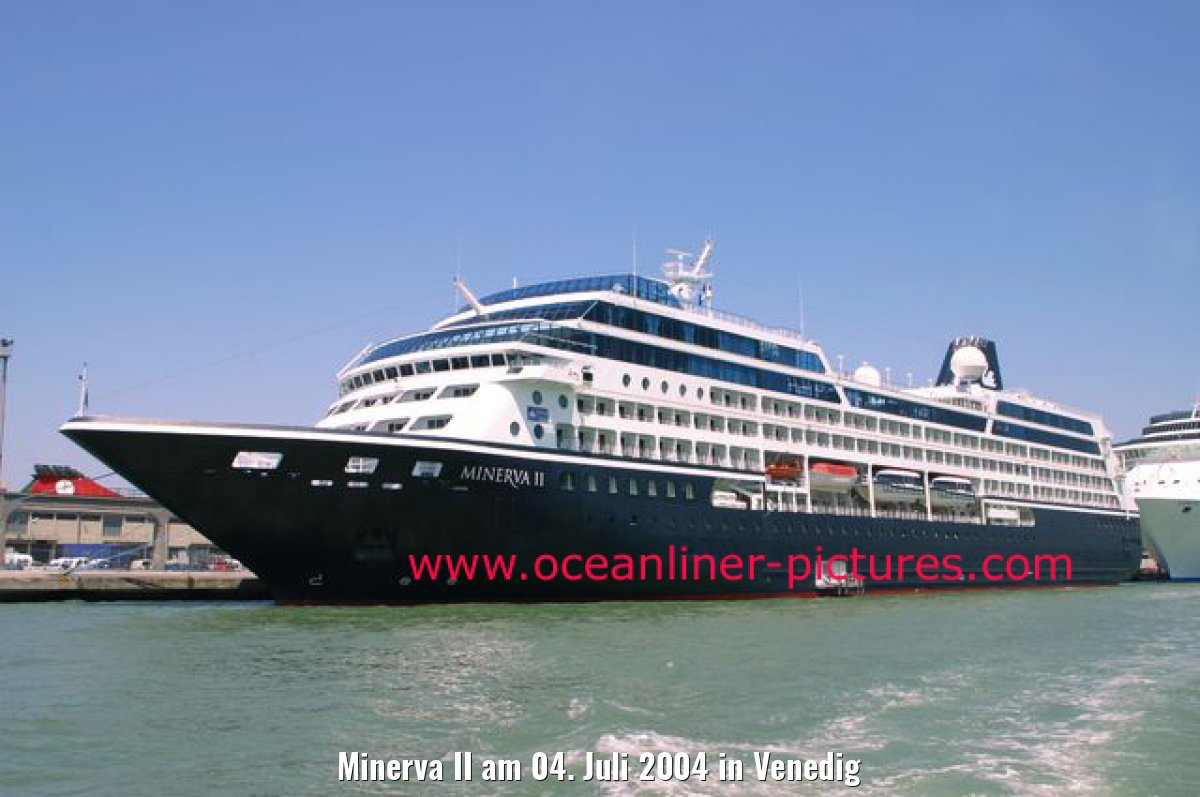 Minerva II am 04. Juli 2004 in Venedig