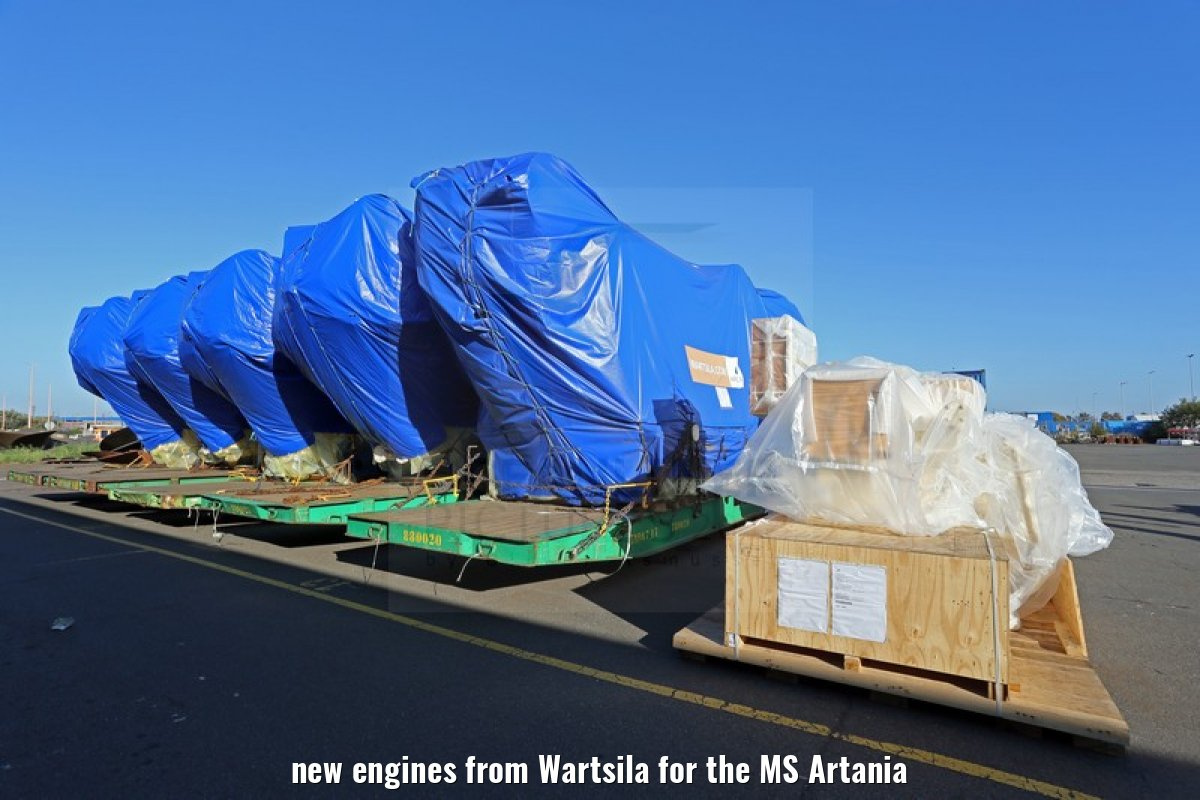 new engines from Wartsila for the MS Artania