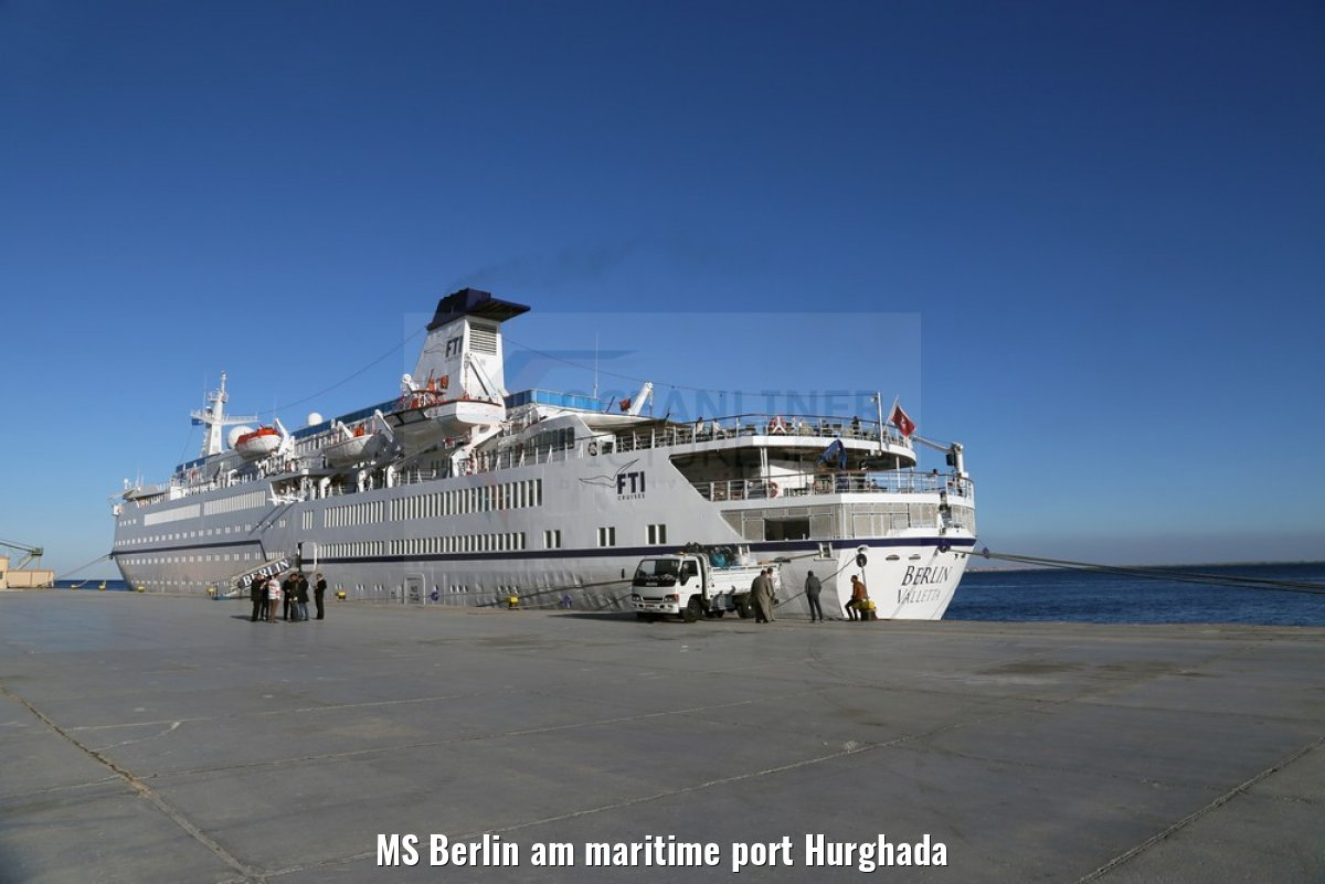 MS Berlin am maritime port Hurghada