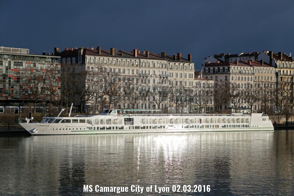 MS Camargue City of Lyon 02.03.2016