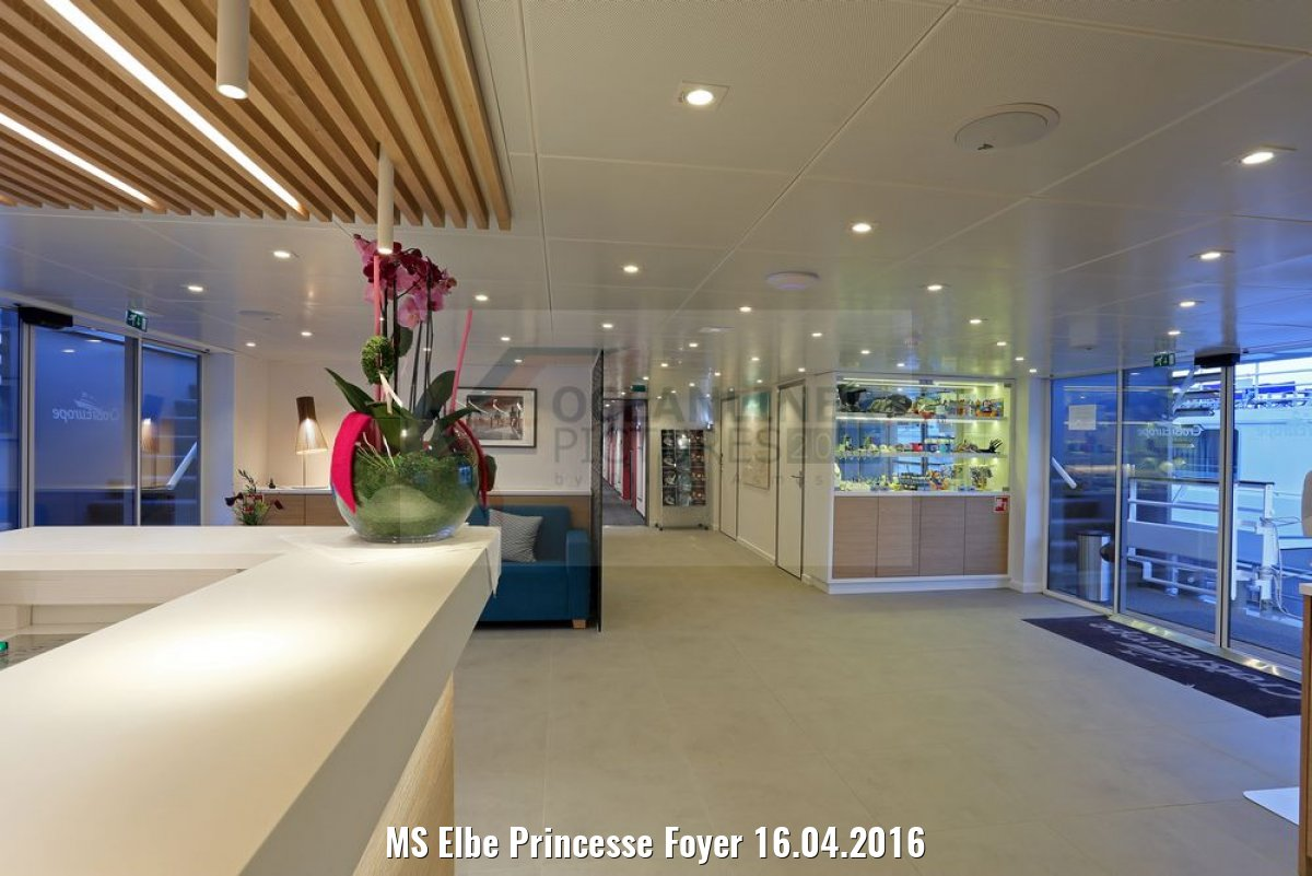 MS Elbe Princesse Foyer 16.04.2016