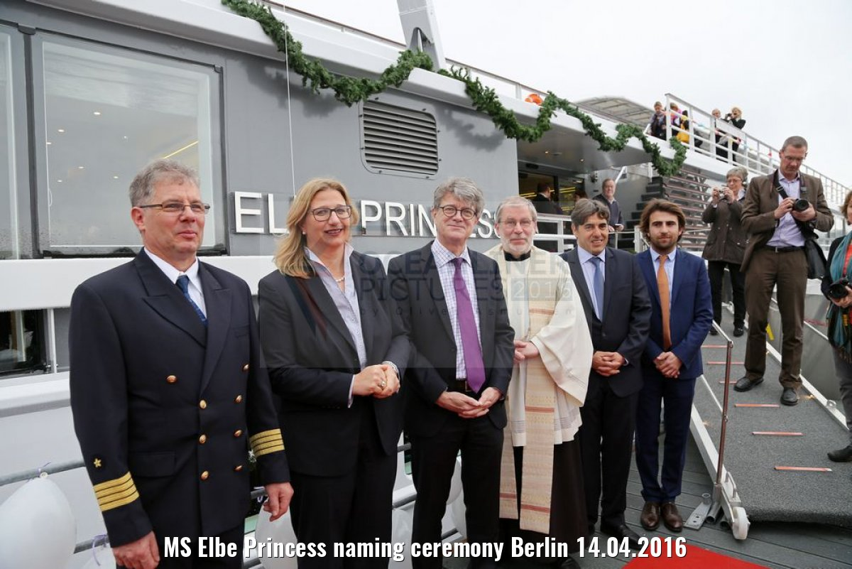 MS Elbe Princess naming ceremony Berlin 14.04.2016