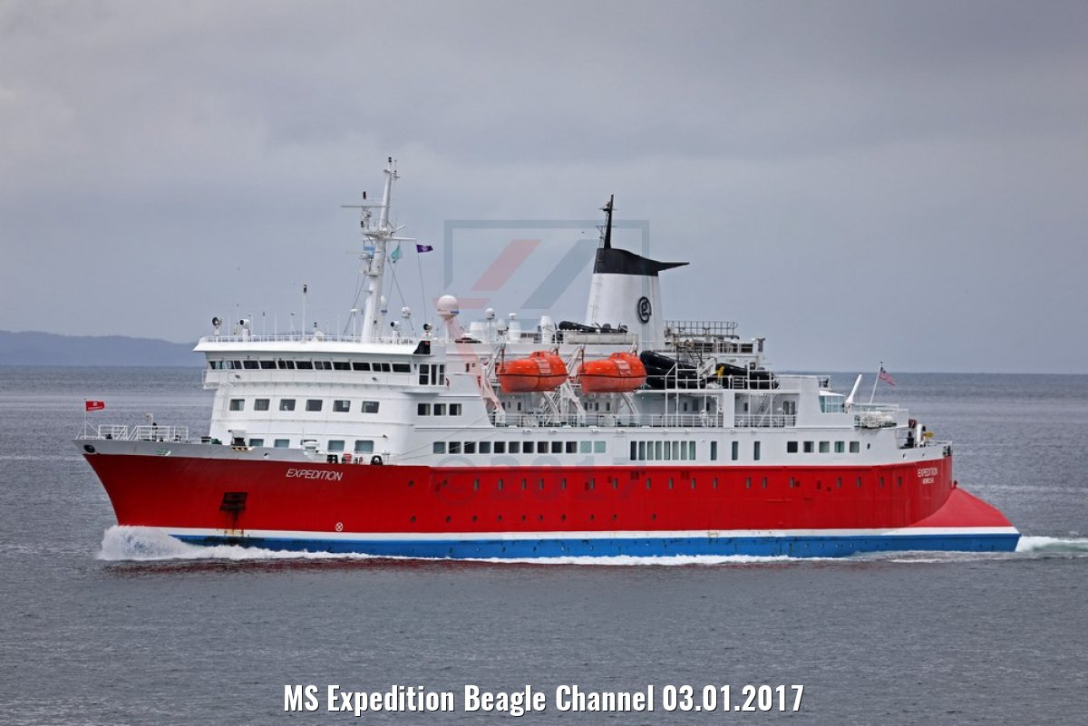 MS Expedition Beagle Channel 03.01.2017