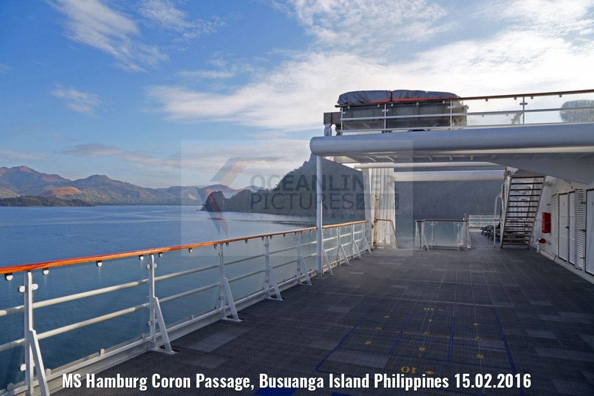 MS Hamburg Coron Passage, Busuanga Island Philippines 15.02.2016