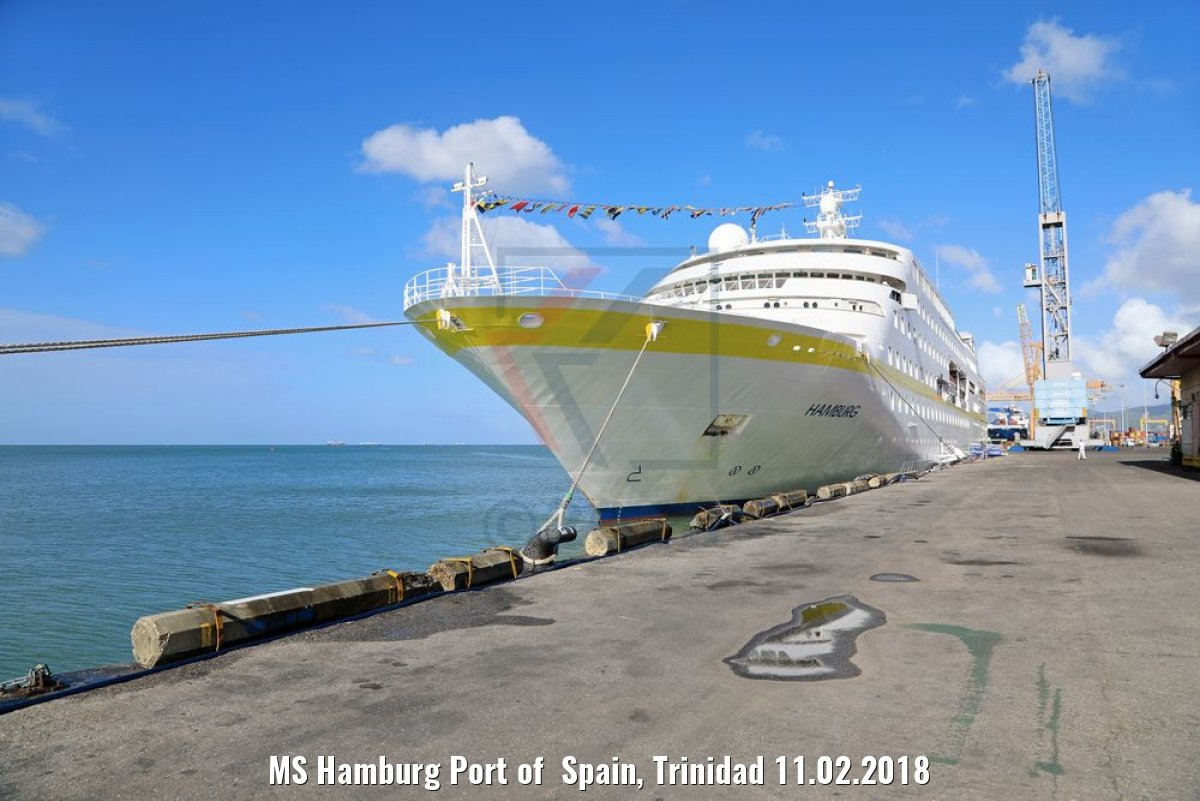 MS Hamburg Port of Spain, Trinidad 11.02.2018