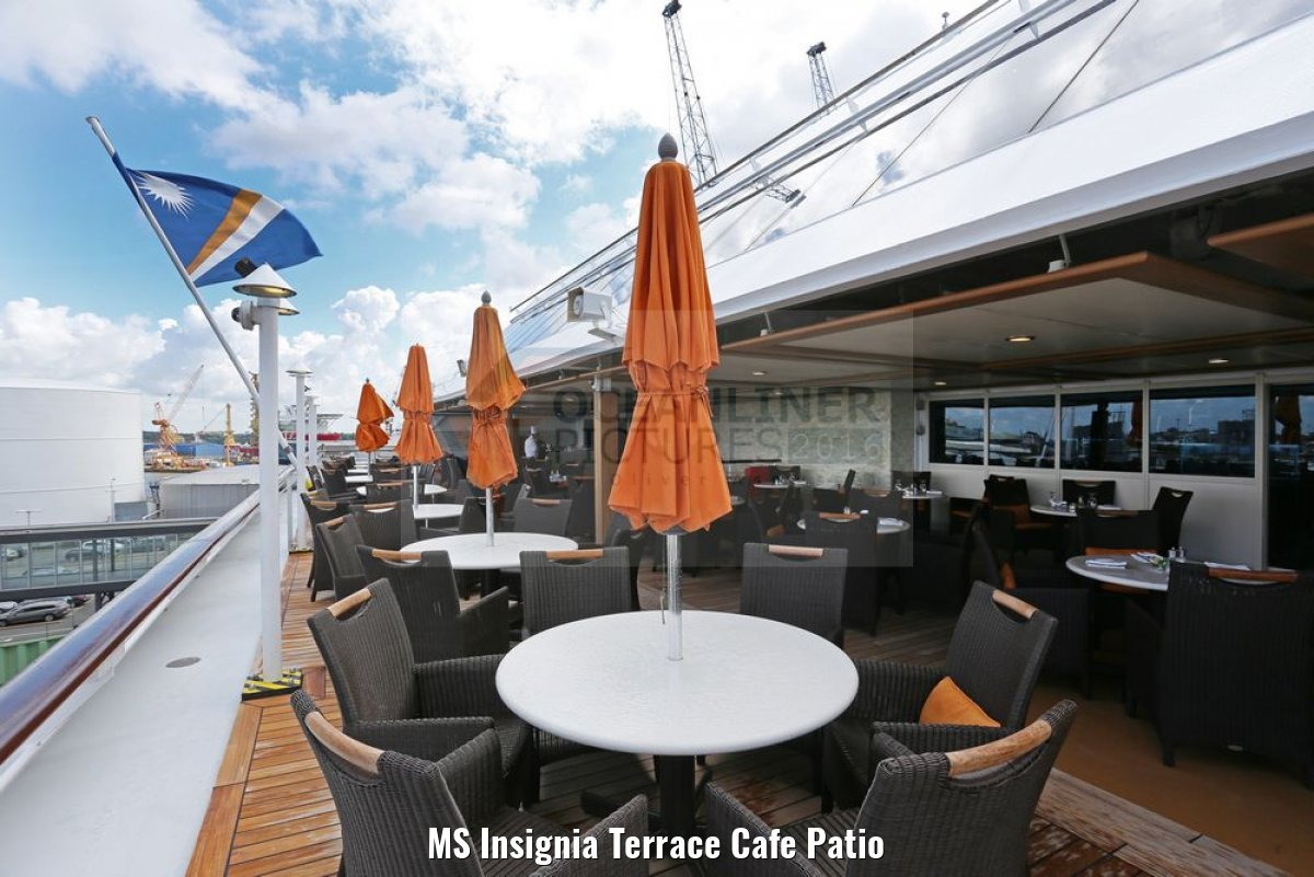MS Insignia Terrace Cafe Patio