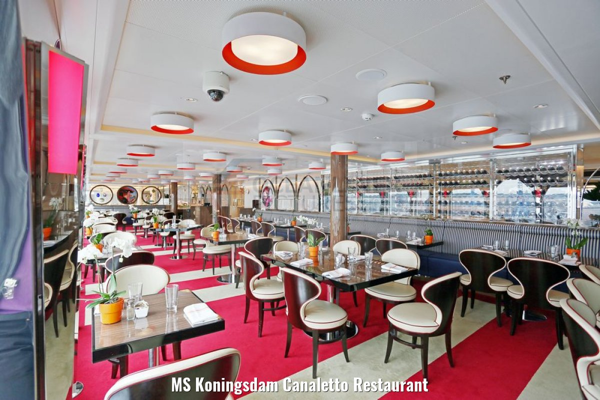 MS Koningsdam Canaletto Restaurant