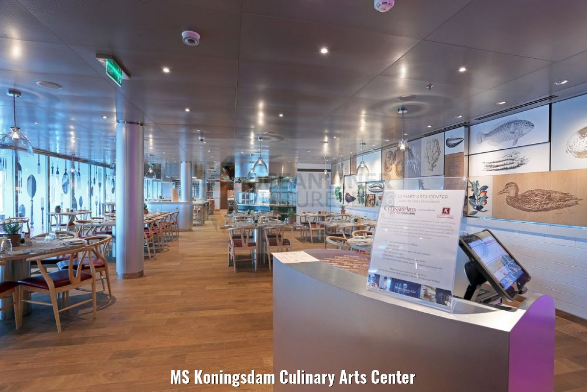 MS Koningsdam Culinary Arts Center