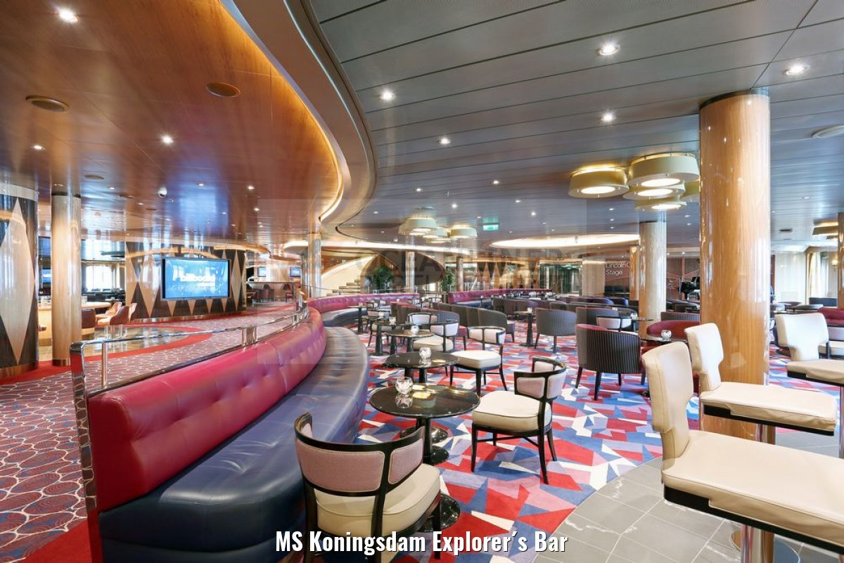 MS Koningsdam Explorer´s Bar