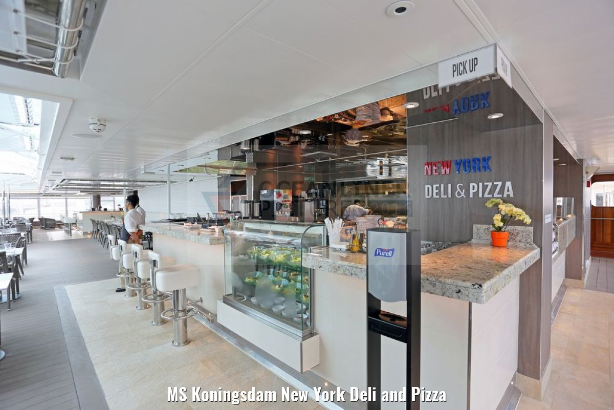 MS Koningsdam New York Deli and Pizza