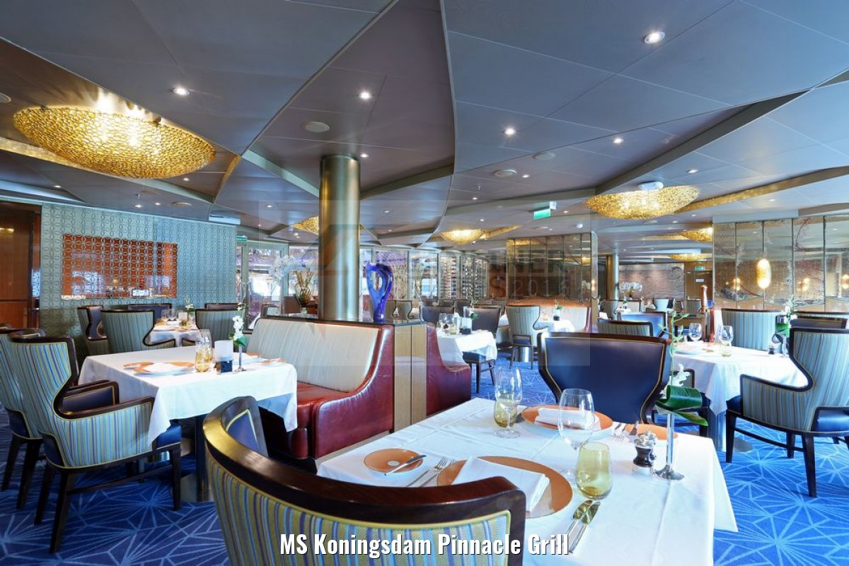 MS Koningsdam Pinnacle Grill