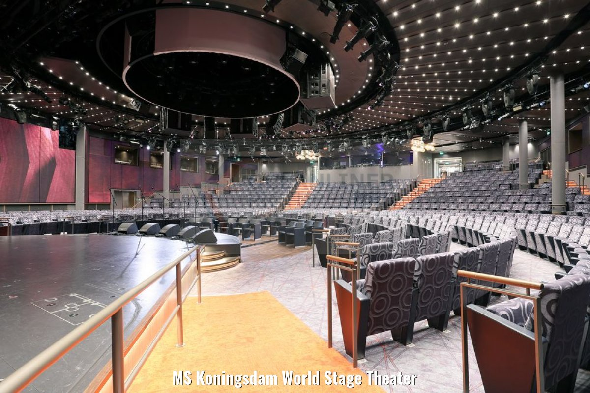 MS Koningsdam World Stage Theater