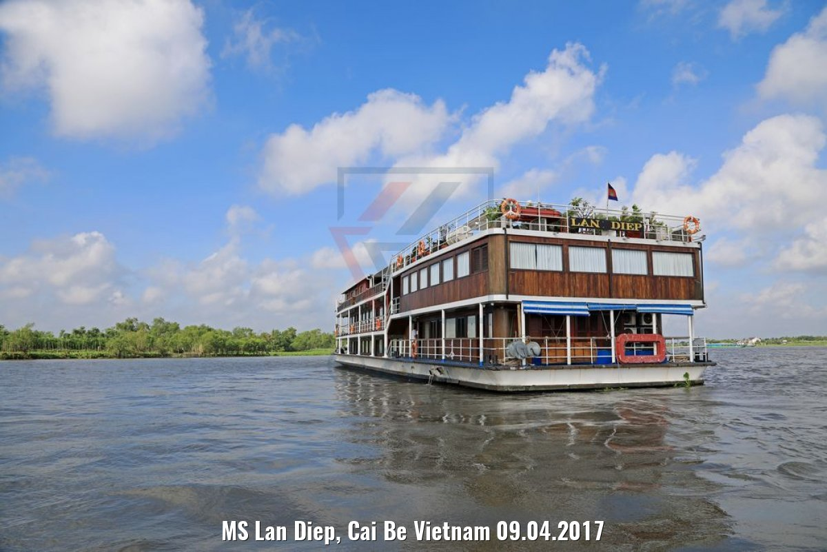 MS Lan Diep, Cai Be Vietnam 09.04.2017