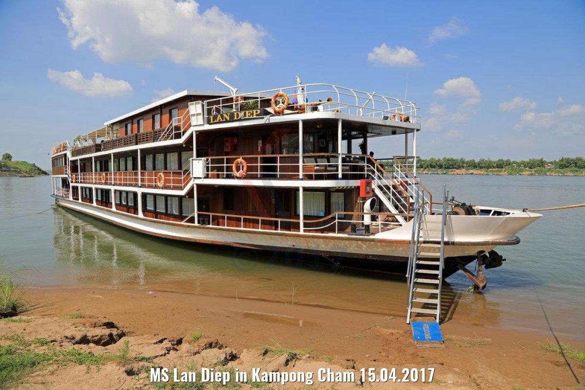 MS Lan Diep in Kampong Cham 15.04.2017