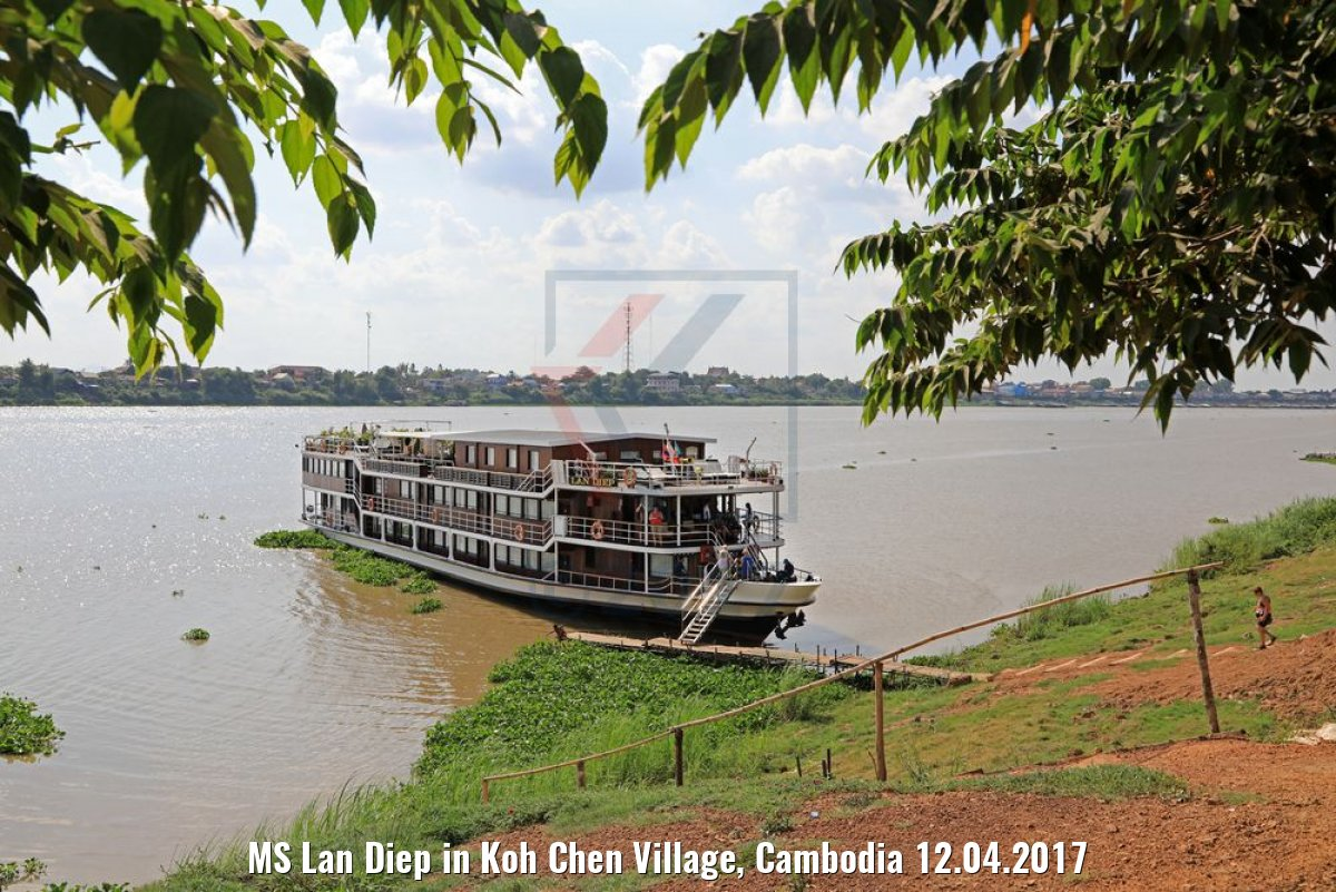 MS Lan Diep in Koh Chen Village, Cambodia 12.04.2017