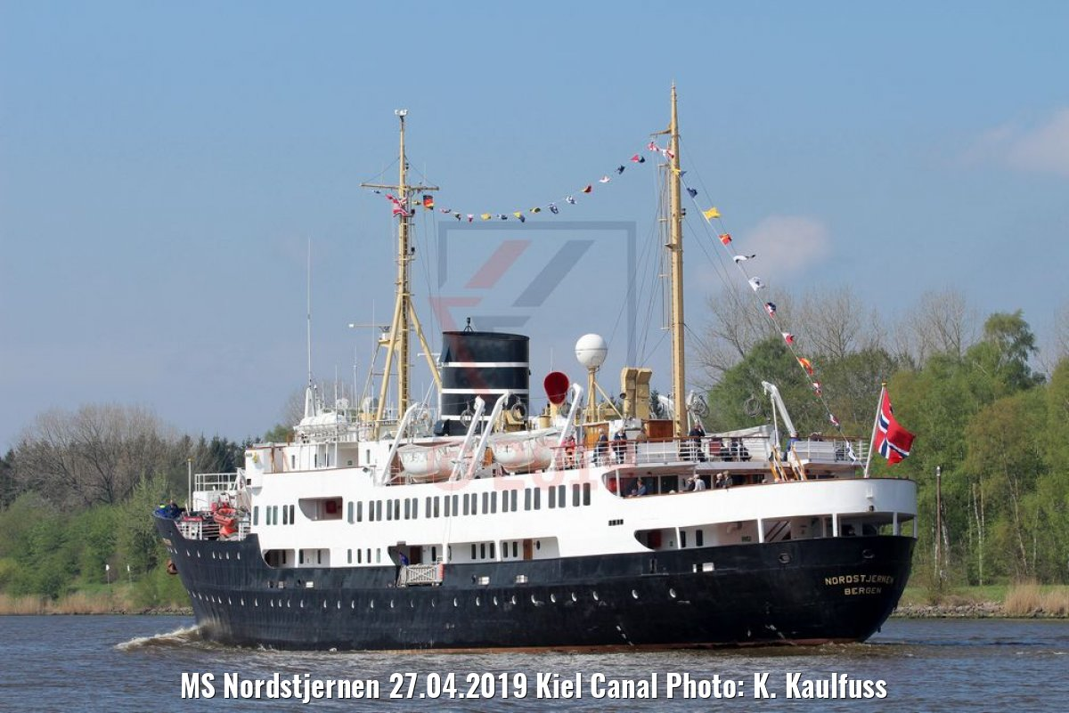 MS Nordstjernen 27.04.2019 Kiel Canal Photo: K. Kaulfuss