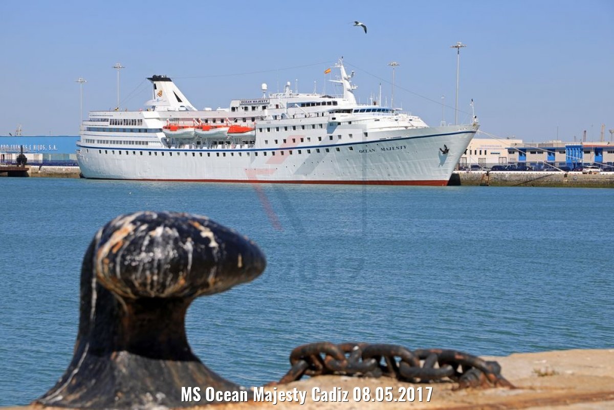 MS Ocean Majesty Cadiz 08.05.2017