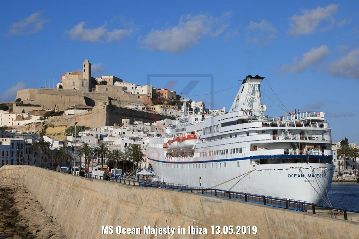 MS Ocean Majesty in Ibiza 13.05.2019