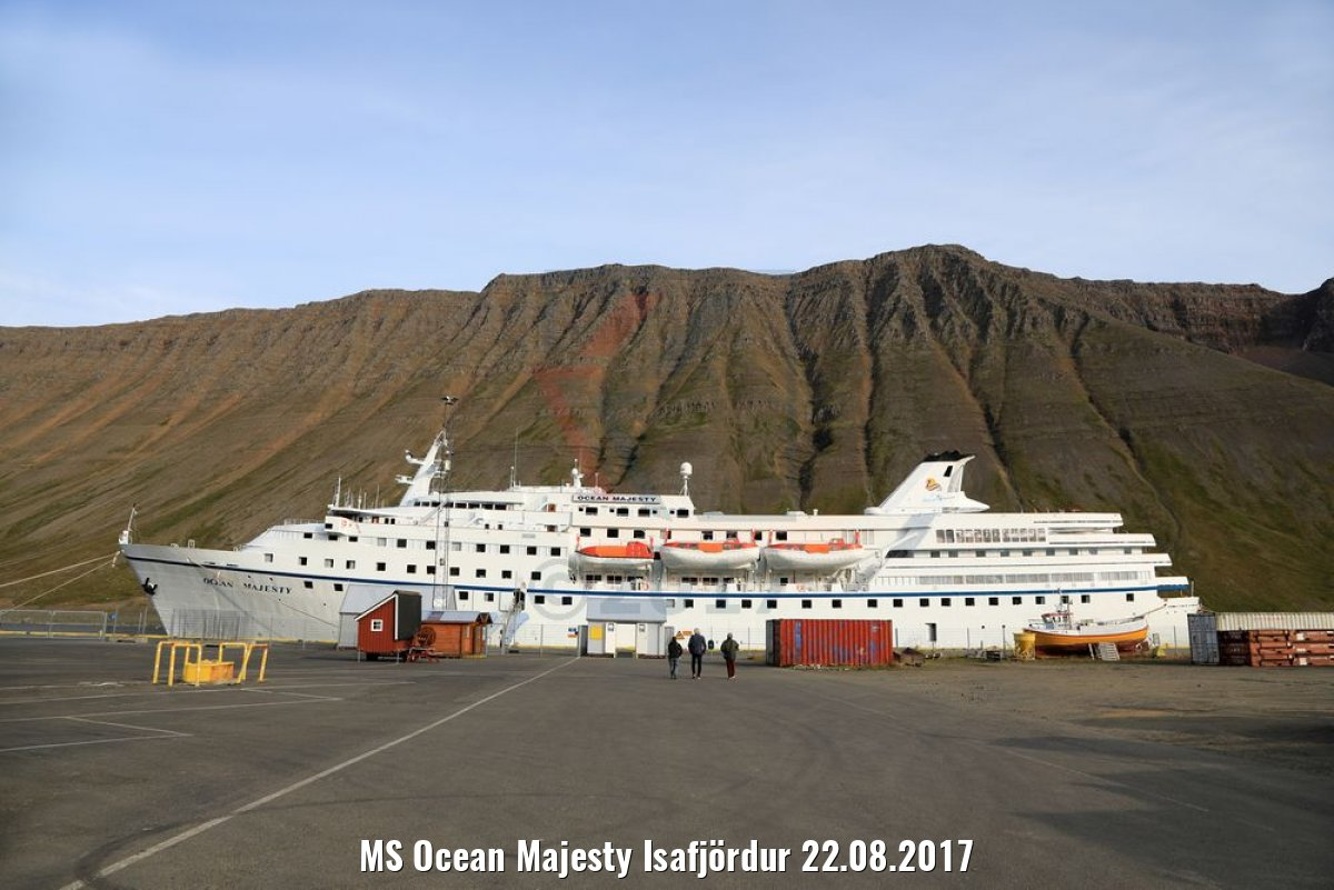 MS Ocean Majesty Isafjördur 22.08.2017