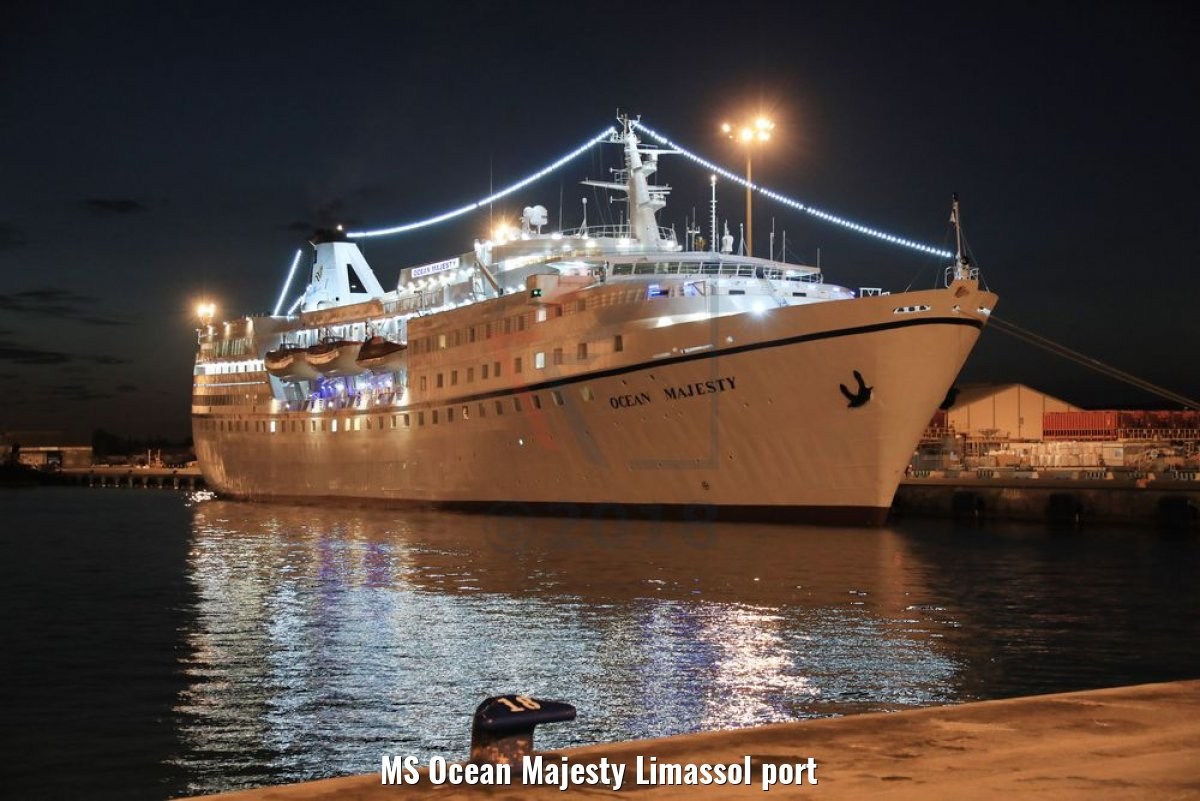 MS Ocean Majesty Limassol port