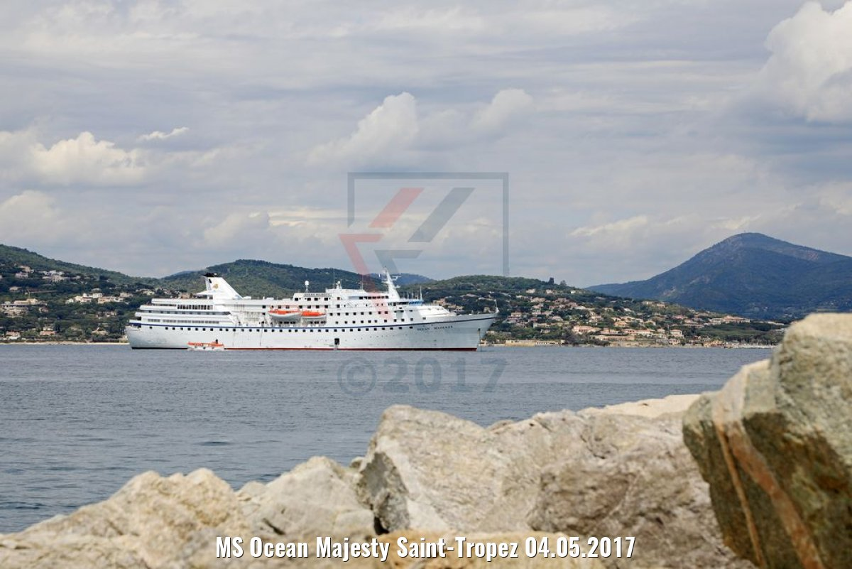 MS Ocean Majesty Saint-Tropez 04.05.2017