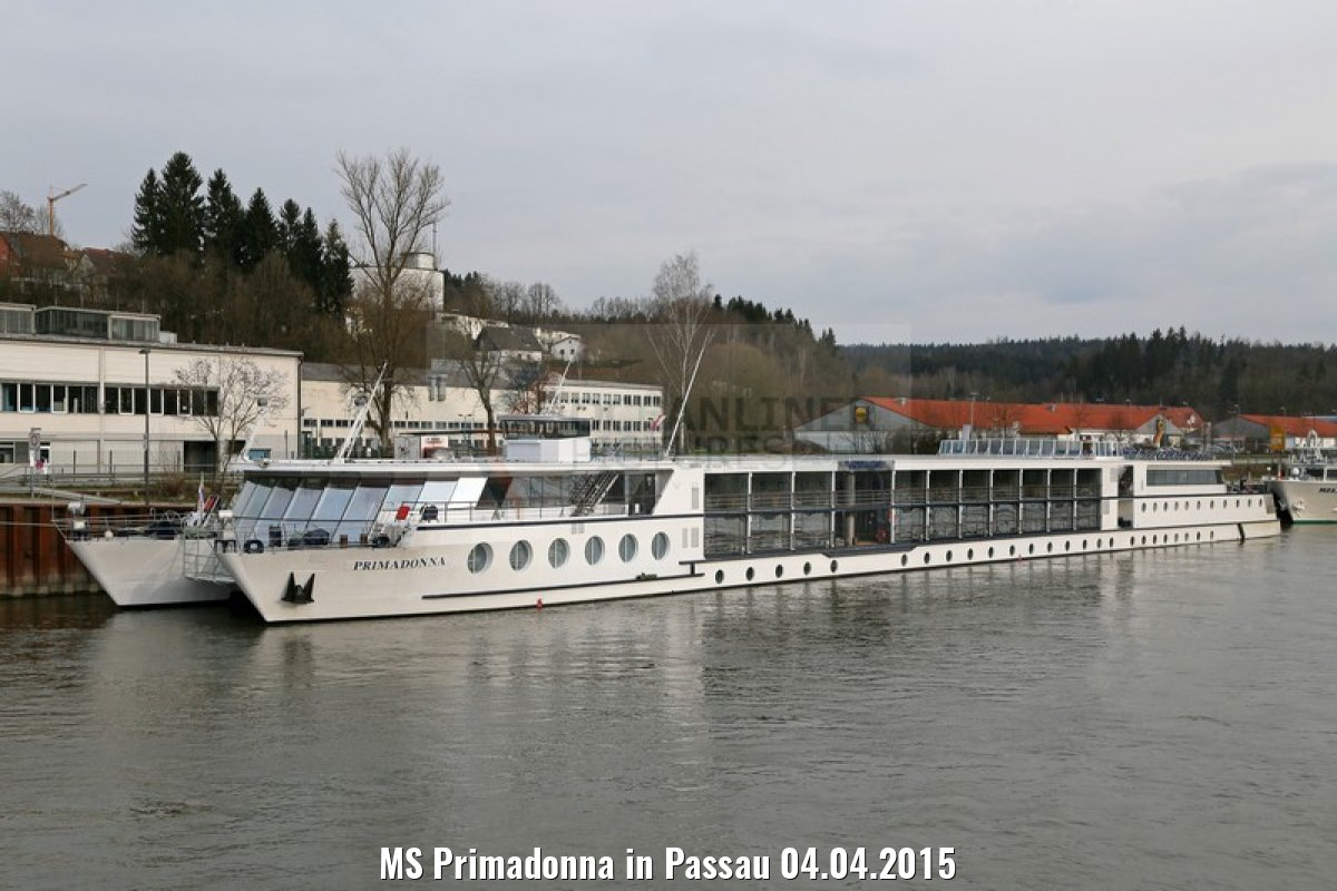 MS Primadonna in Passau 04.04.2015