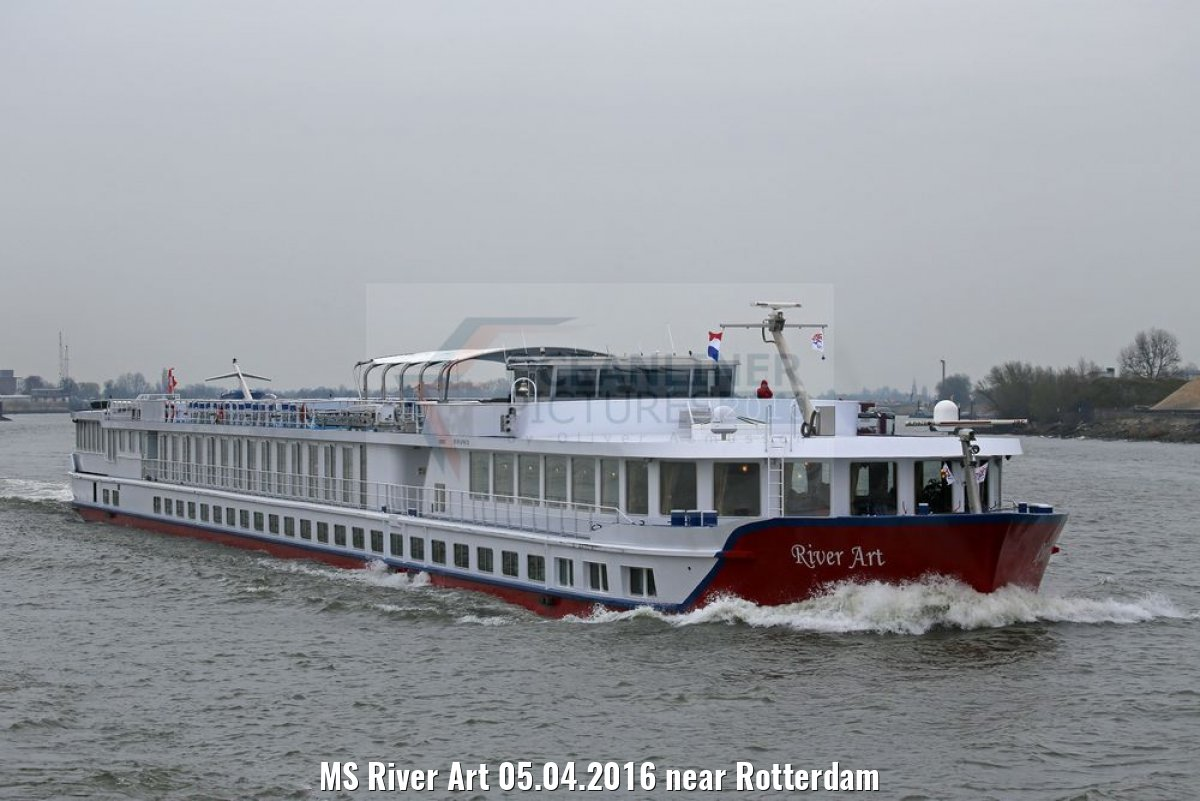 MS River Art 05.04.2016 near Rotterdam