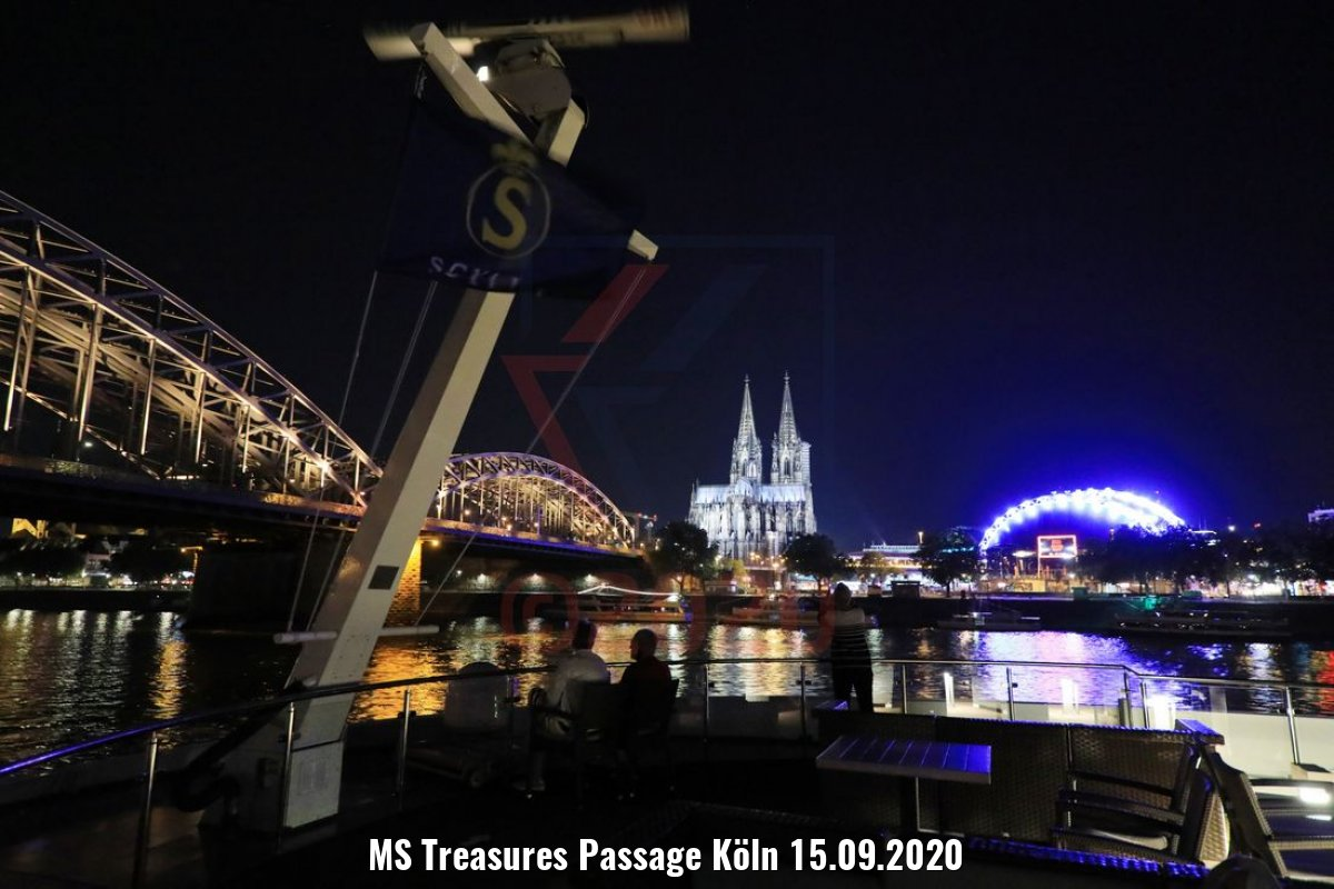 MS Treasures Passage Köln 15.09.2020