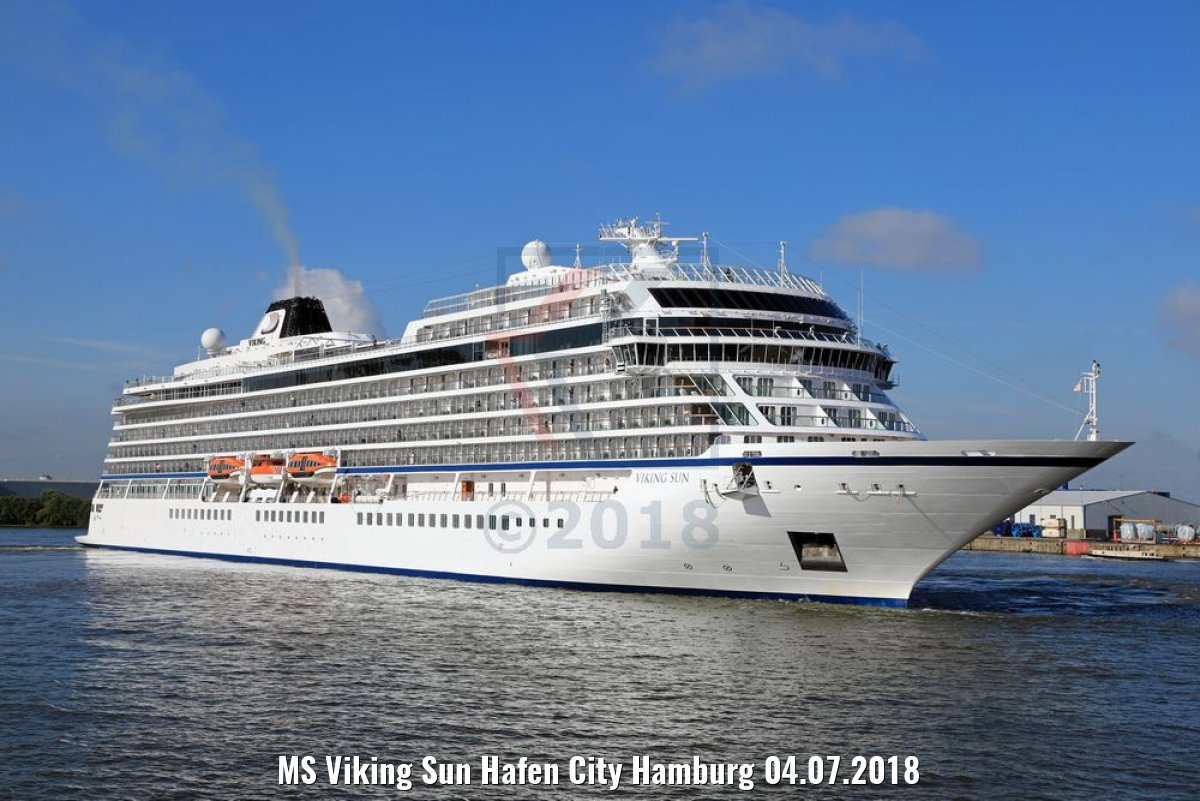 MS Viking Sun Hafen City Hamburg 04.07.2018