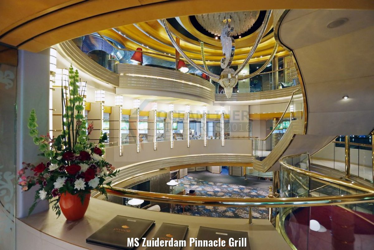 MS Zuiderdam Pinnacle Grill