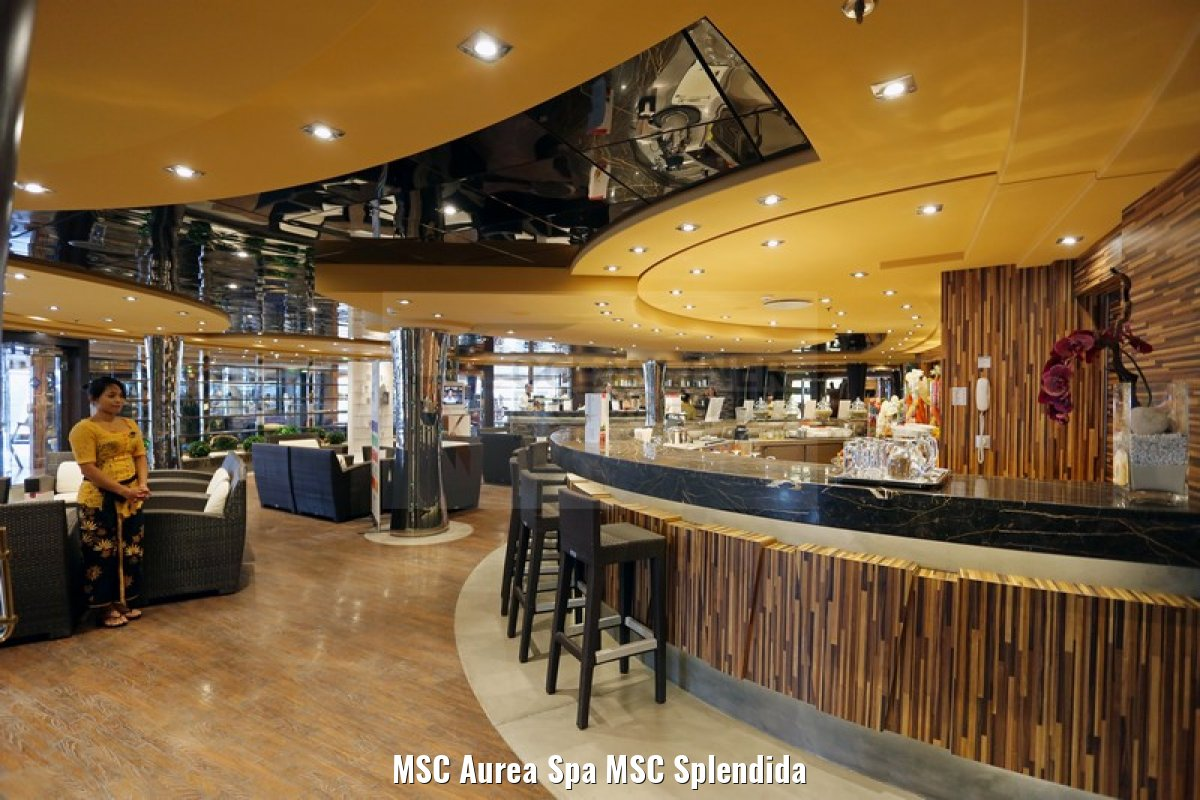 MSC Aurea Spa MSC Splendida