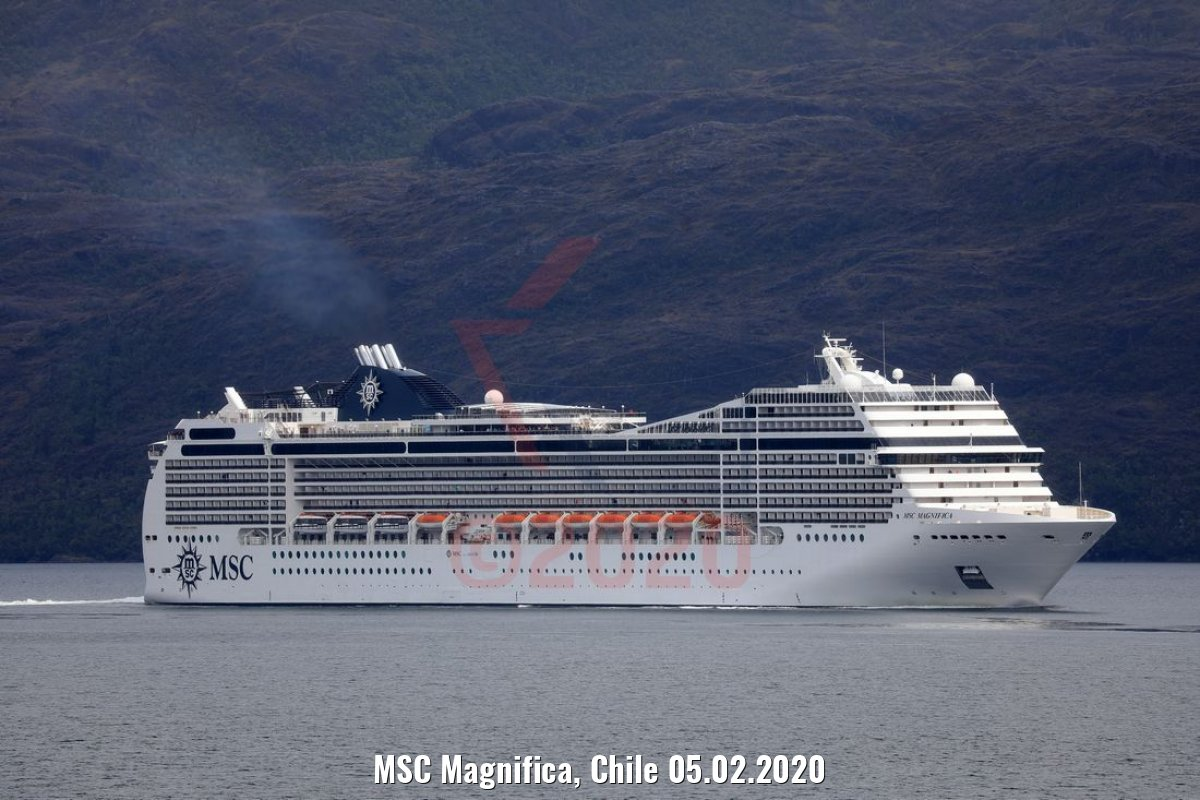 MSC Magnifica, Chile 05.02.2020