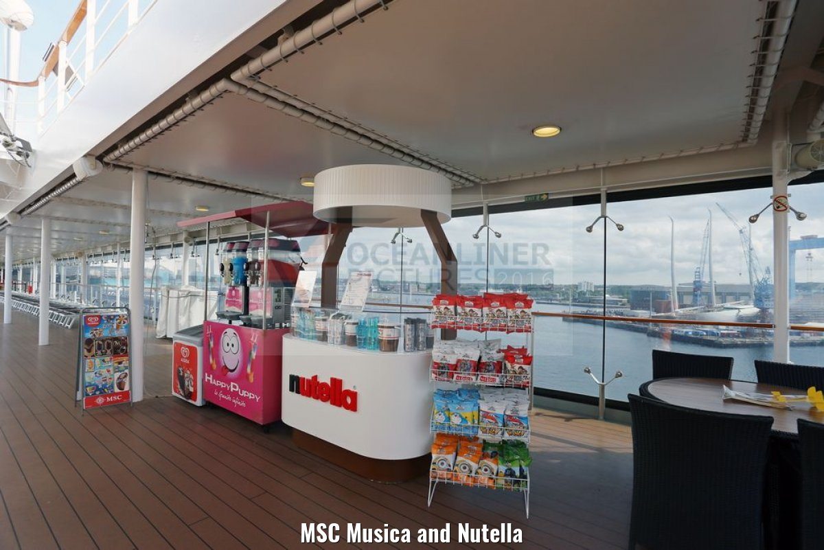 MSC Musica and Nutella