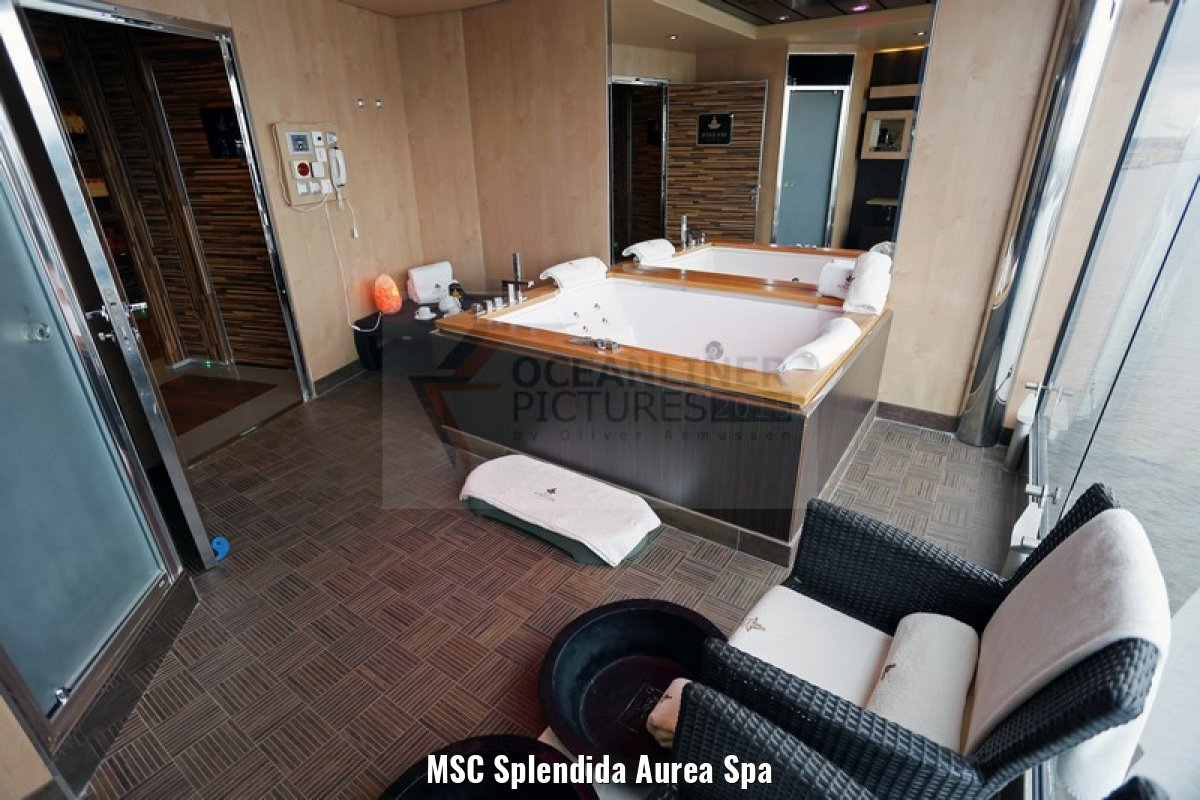 MSC Splendida Aurea Spa