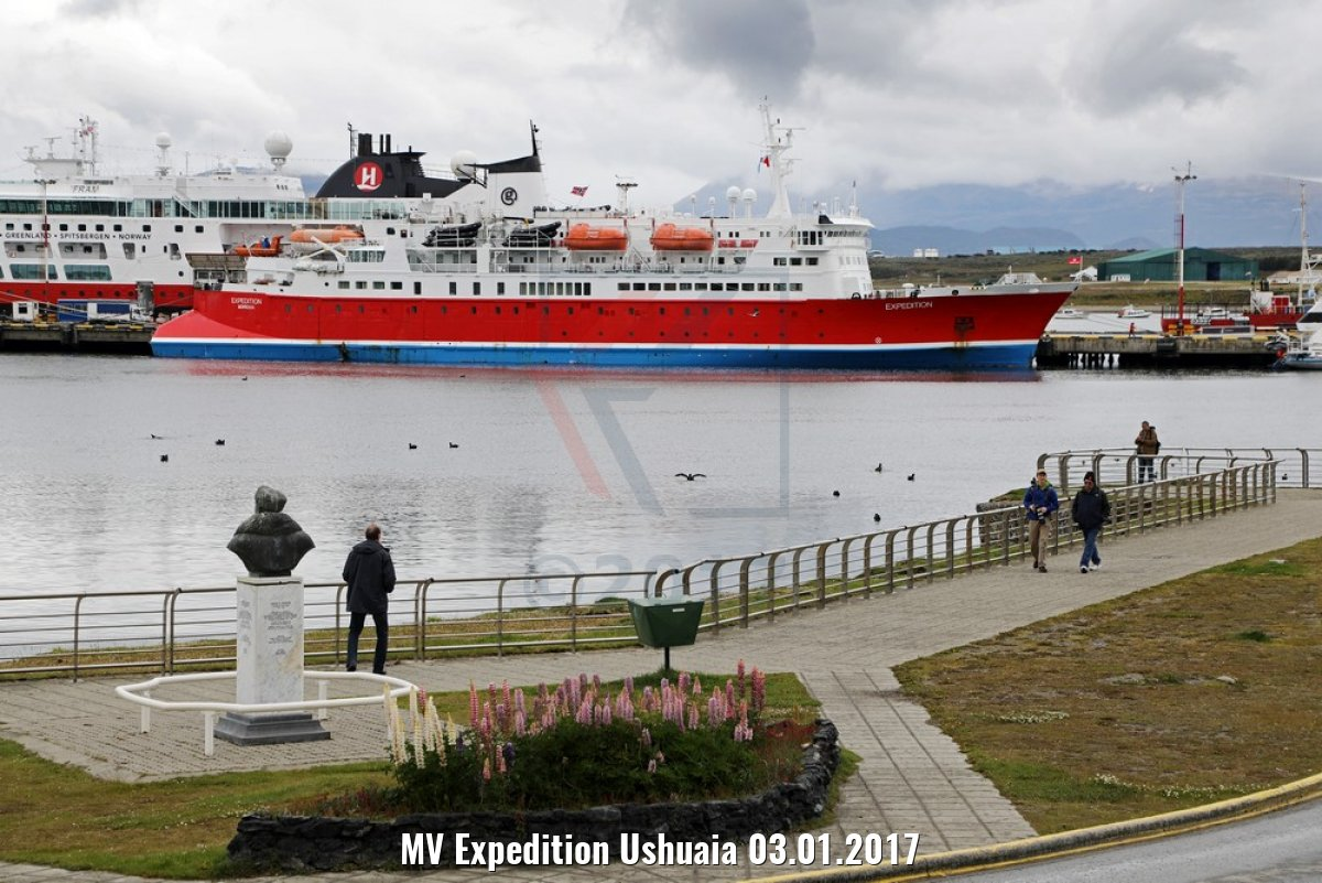 MV Expedition Ushuaia 03.01.2017