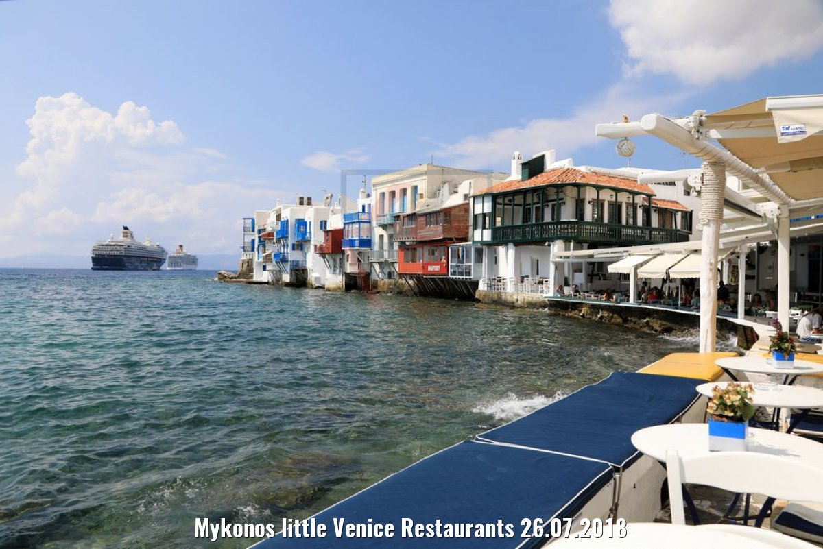 Mykonos little Venice Restaurants 26.07.2018
