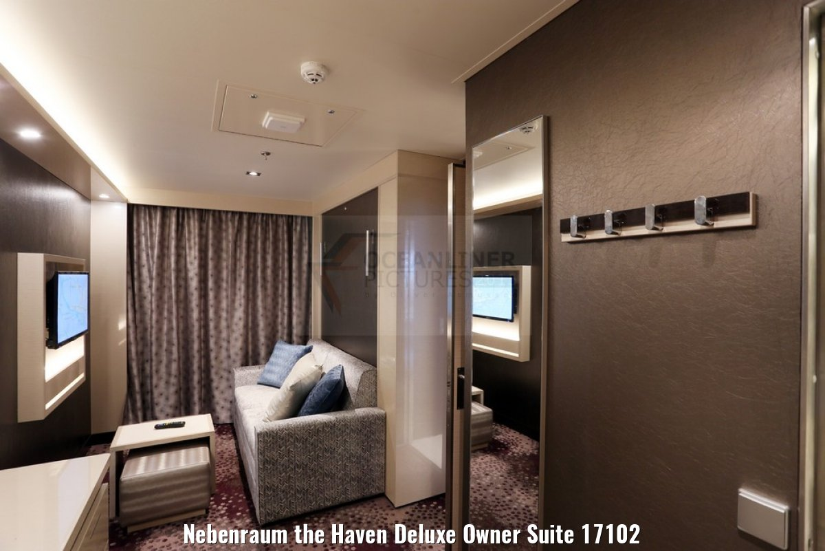 Nebenraum the Haven Deluxe Owner Suite 17102