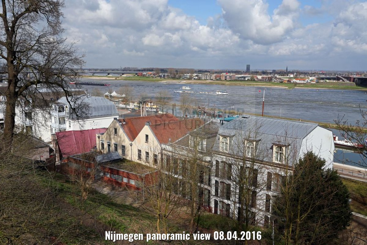 Nijmegen panoramic view 08.04.2016