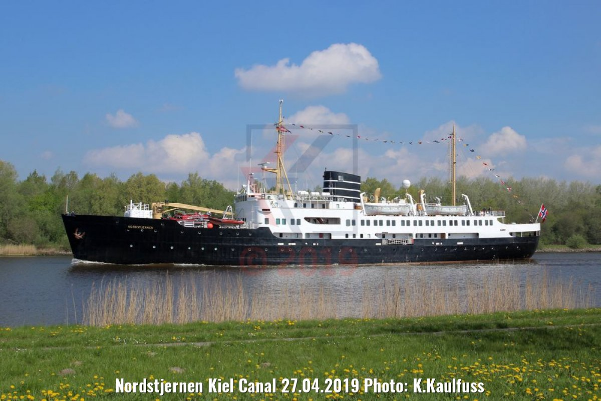 Nordstjernen Kiel Canal 27.04.2019 Photo: K.Kaulfuss