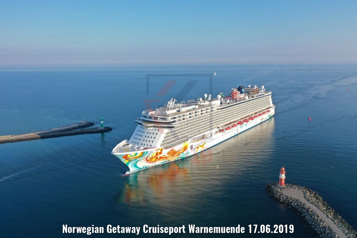Norwegian Getaway Cruiseport Warnemuende 17.06.2019